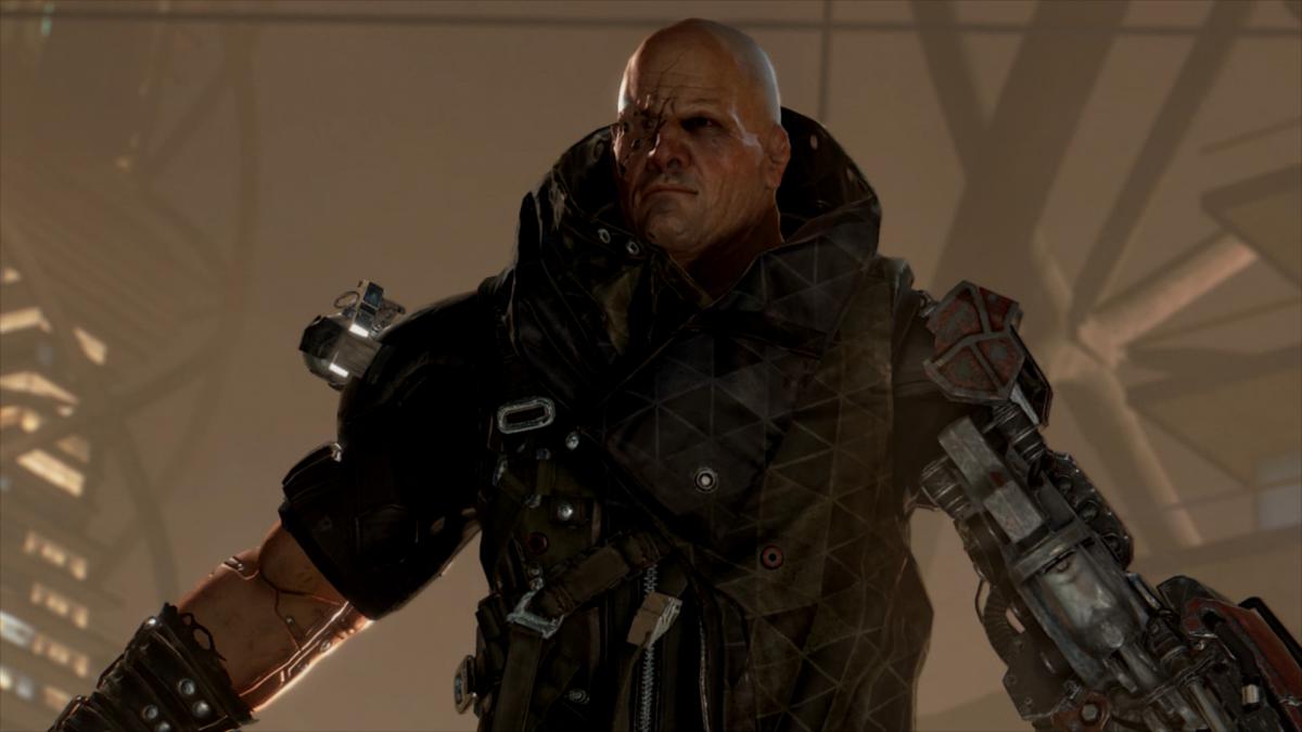 Виктор Марченко из Deus Ex Mankind Divided / скриншот