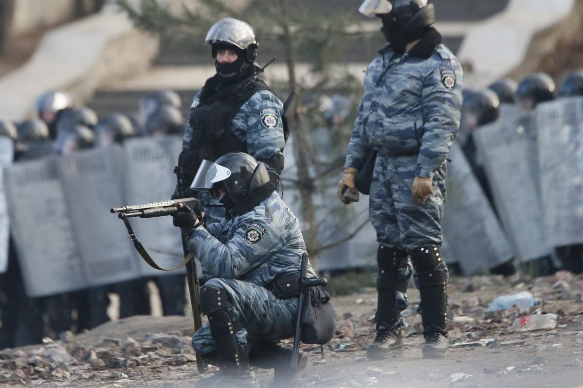 """Целью действий """"Беркута"""" было запугивание населения/ фото УНИАН"""