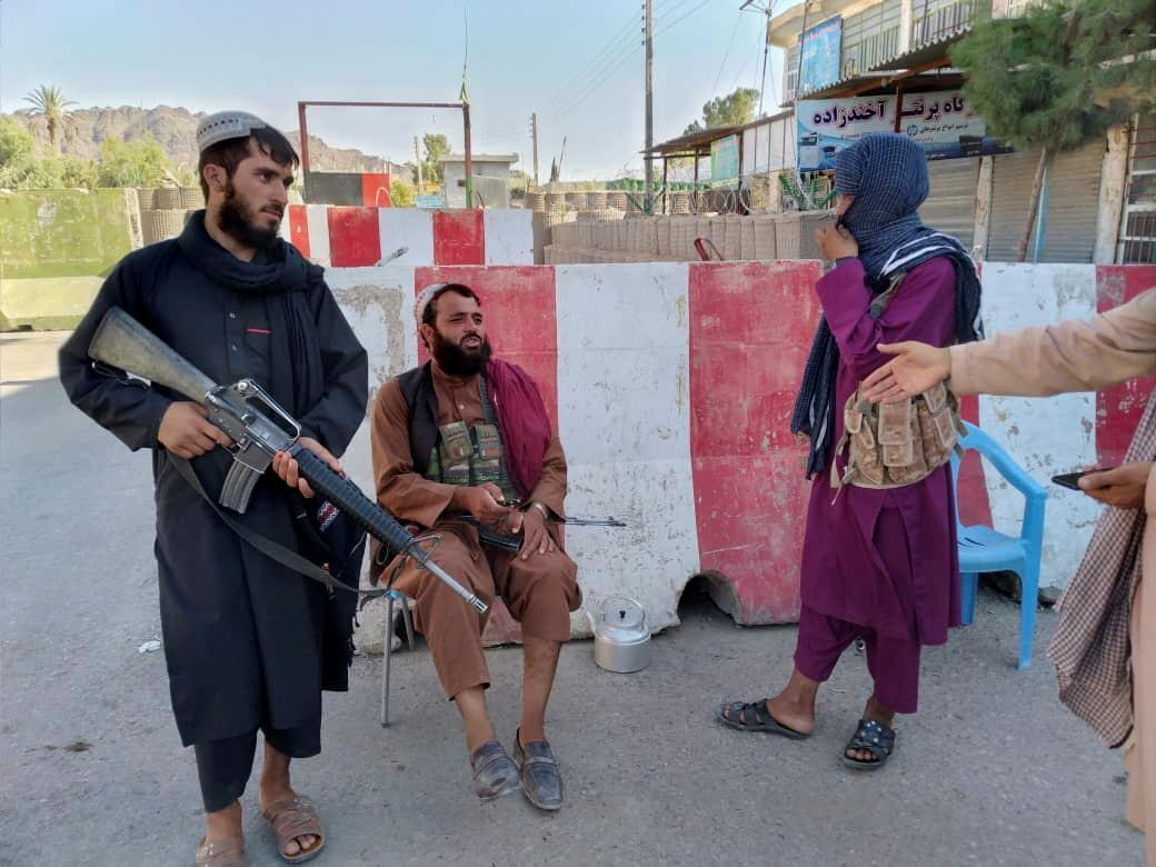 The Taliban entered the capital Kabul on Sunday \ photo REUTERS