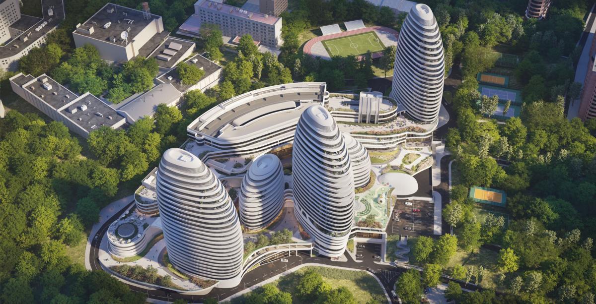 Многофункциональный комплекс INTERGAL CITY / intergal.city