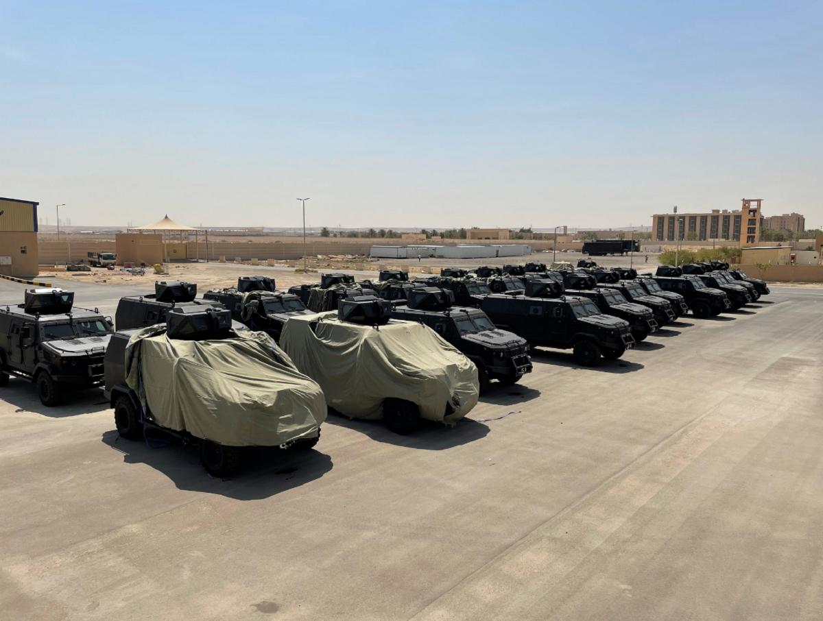 Dozens of armored vehicles went to Saudi Arabia / photo defence-ua.com
