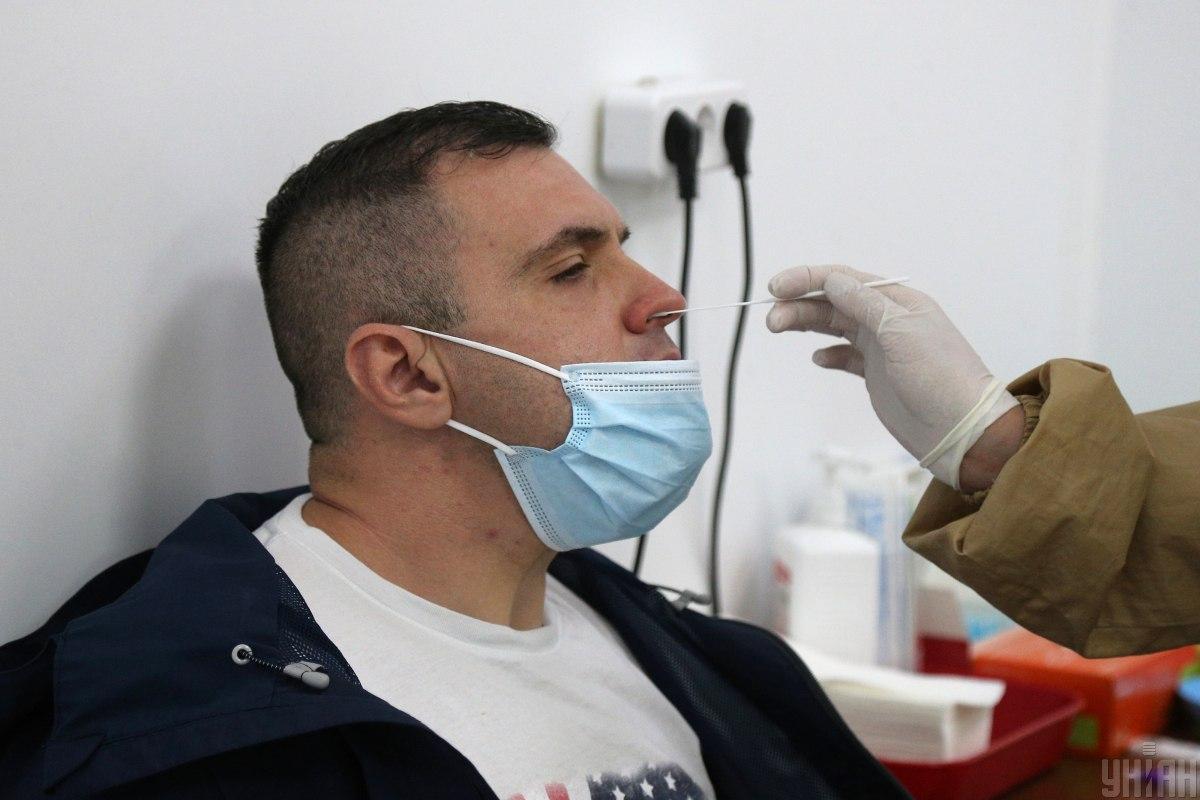 Заболеваемость коронавирусом в Украине растет в последние недели / фото УНИАН