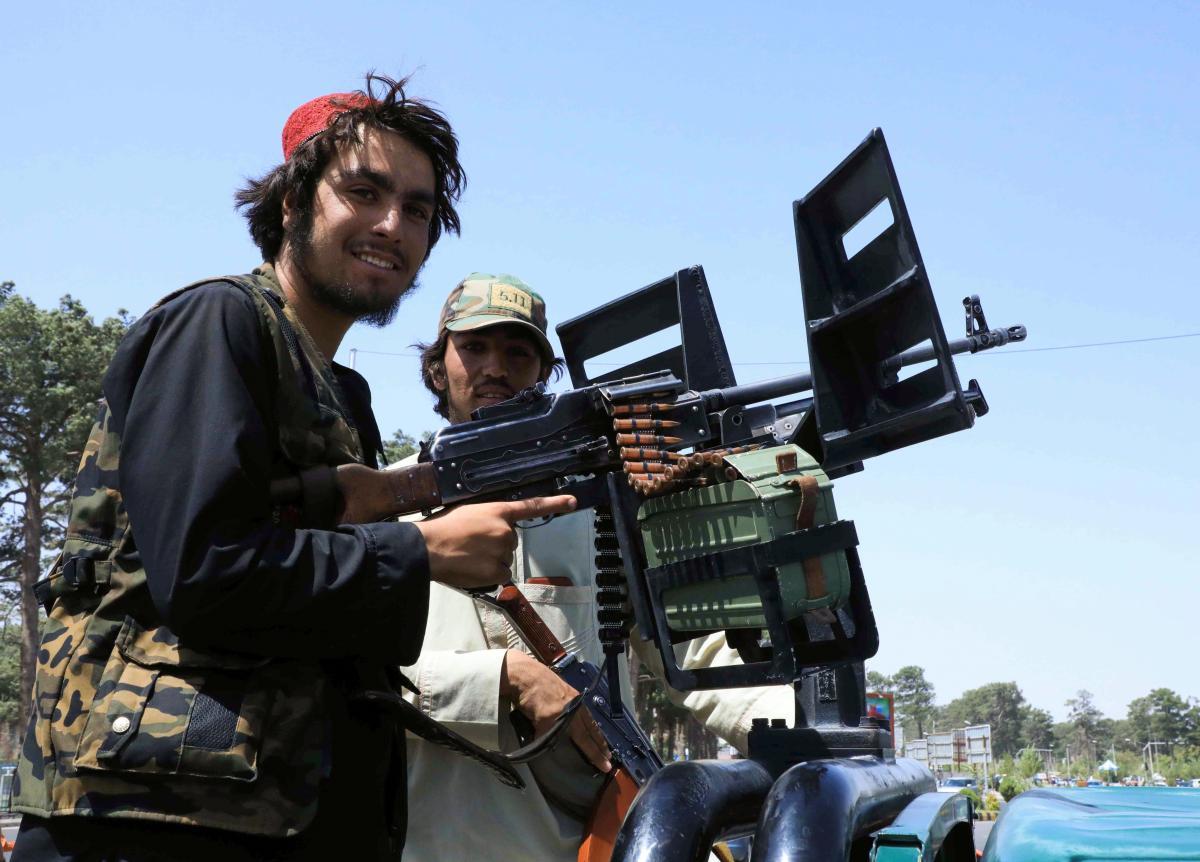 Талибы захватили Кабул / фото REUTERS