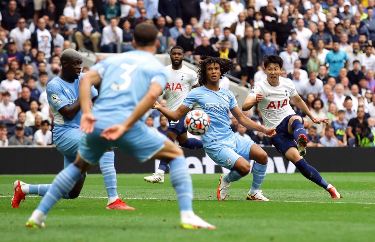 Сон Хин Мін забив єдиний гол у матчі / фото REUTERS