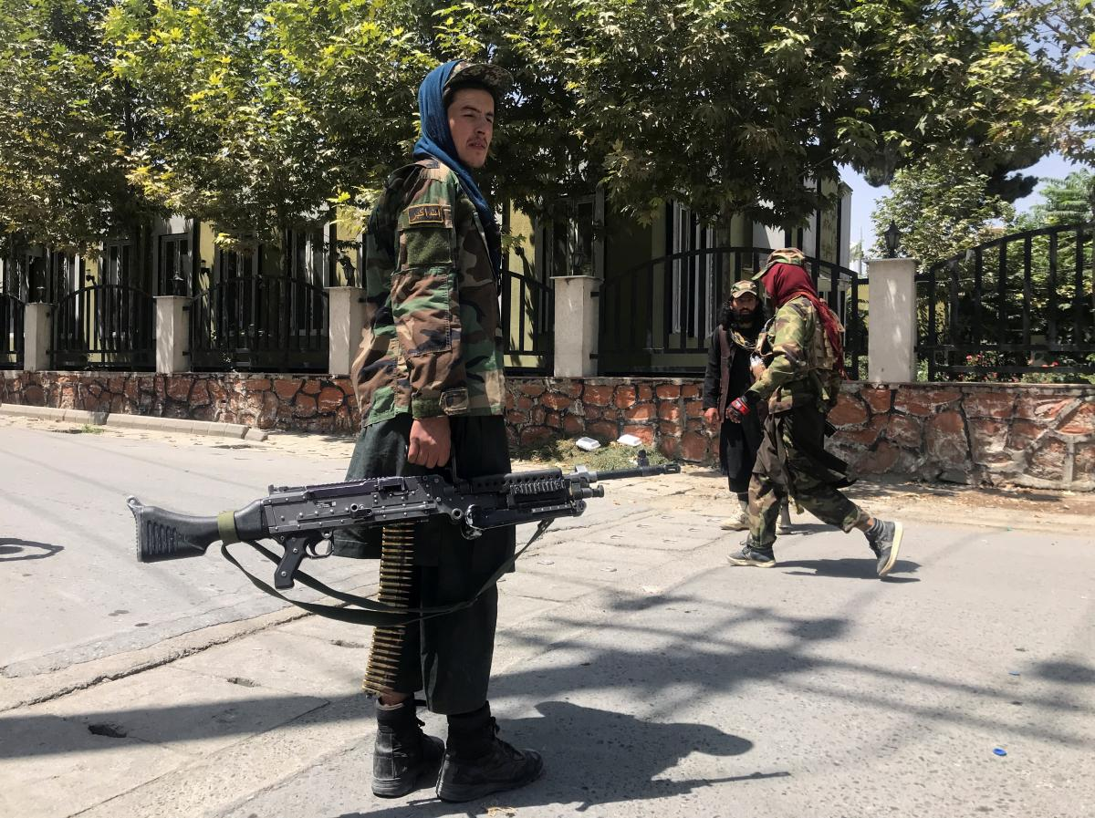 The United States is unhappy that the army has given Afghanistan to the Taliban without a fight / REUTERS
