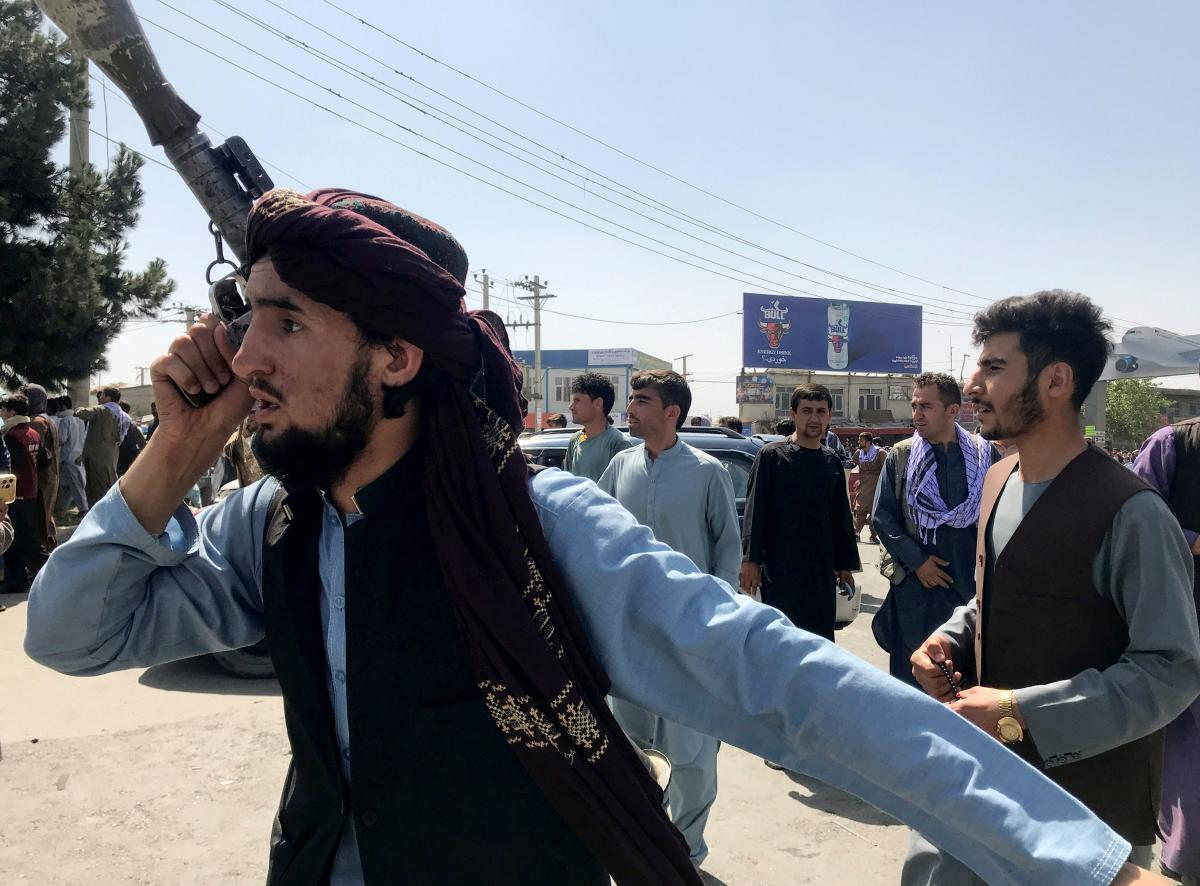 Taliban seize power in Afghanistan / photo by REUTERS