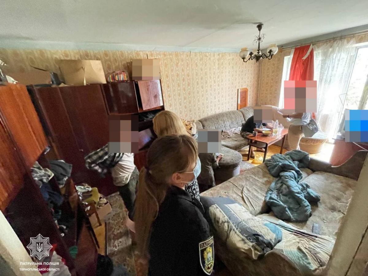Отец морил голодом 11-летнего сына / фото facebook.com/ternopilpolice