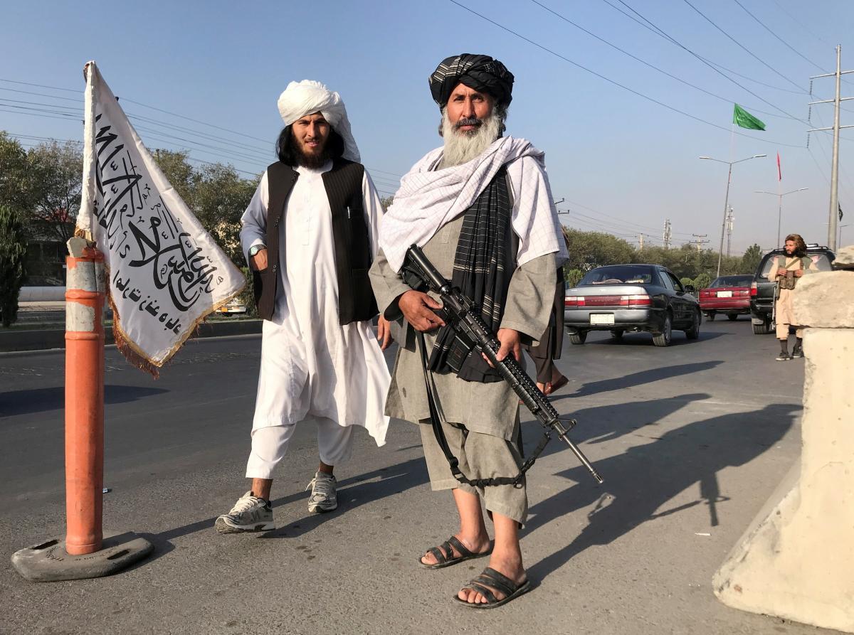 15 августа талибы заявили о захвате всей территории Афганистана / фото REUTERS