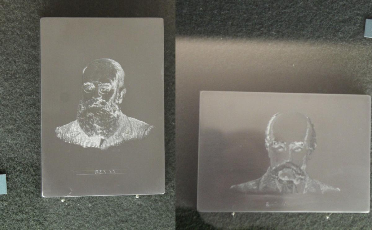 Передана канадцами гравюра с изображением Шевченко и Грушевского / Дмитрий Шварц