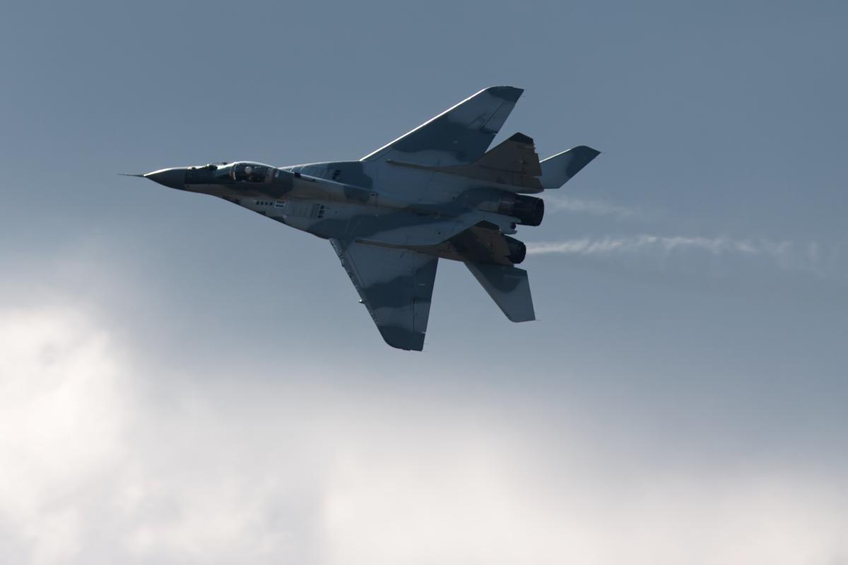 Five days ago in the Astrakhan region crashed the same MiG-29 / photo ua.depositphotos.com