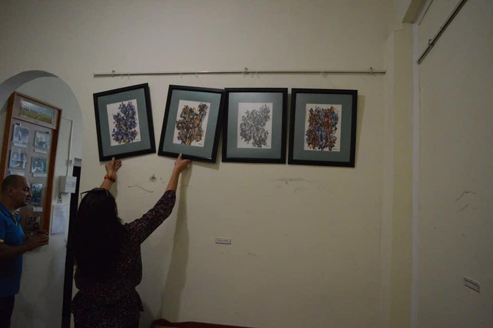 Картини художника зберігалися в неналежних умовах / фото Лановецька міськрада