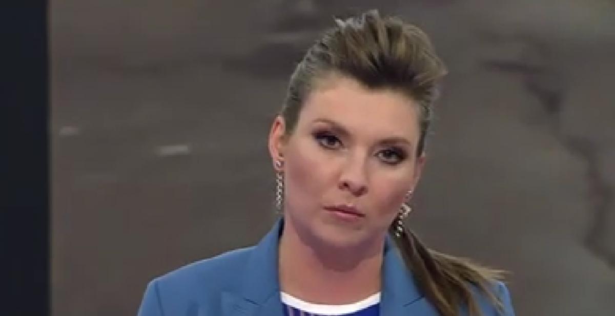 Russian propagandist Skabeeva had hysteria live / screenshot