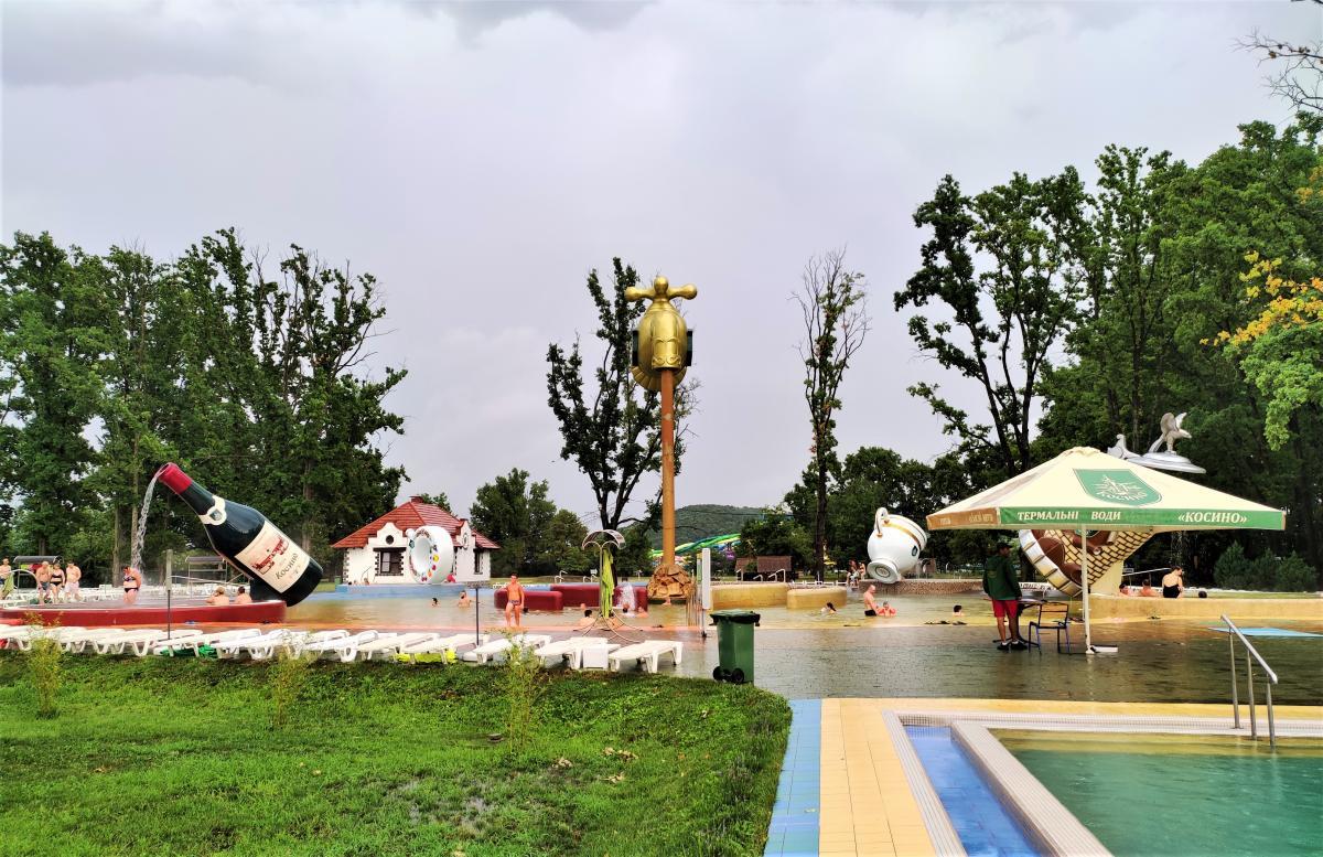 Термы в Косино на Закарпатье / фото Марина Григоренко