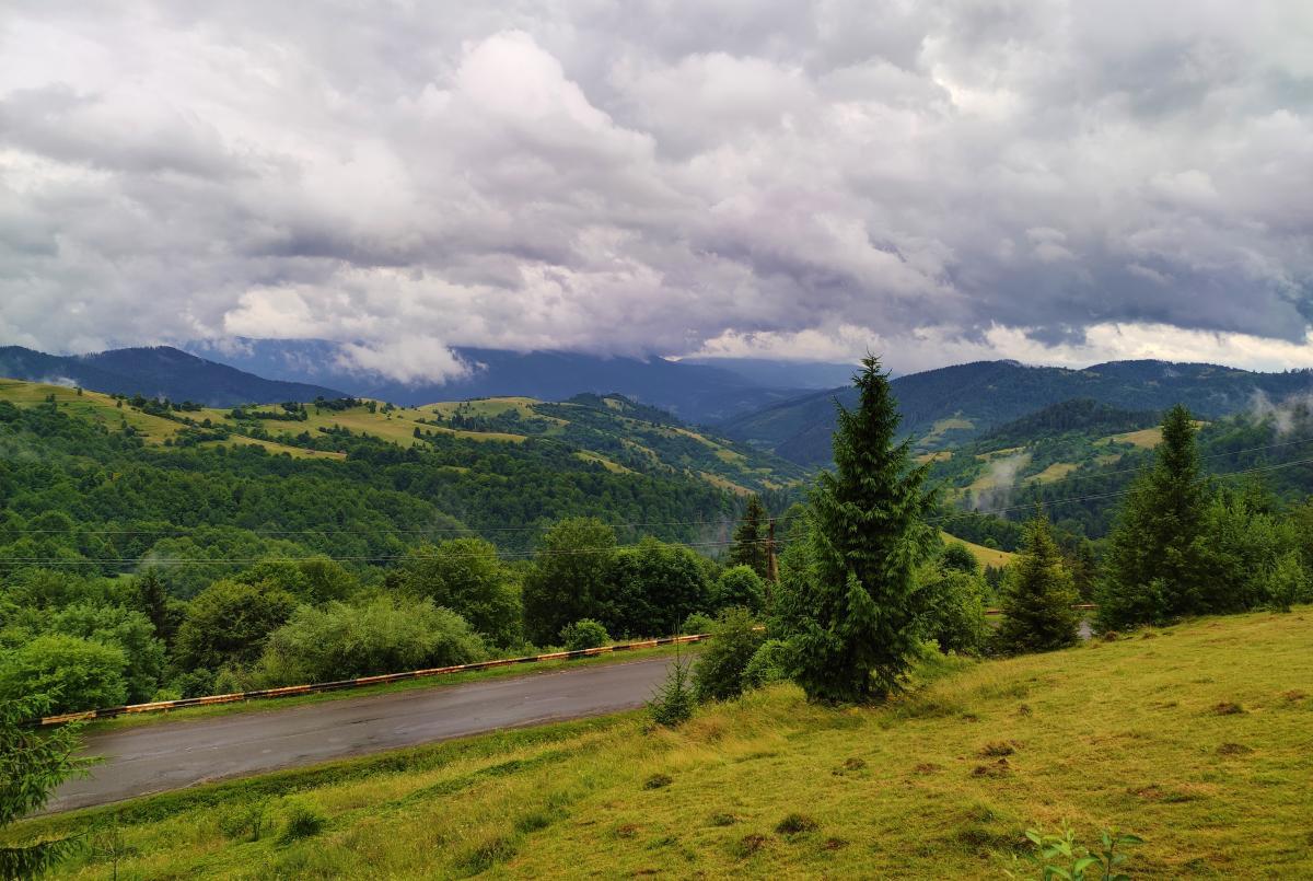 Пейзажи на Синевирском перевале / фото Марина Григоренко