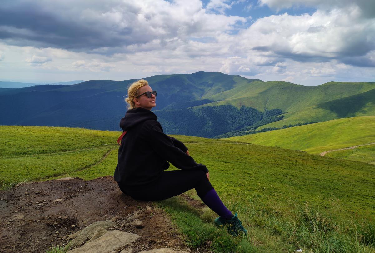Вид с вершины горы Гемба / фото Марина Григоренко