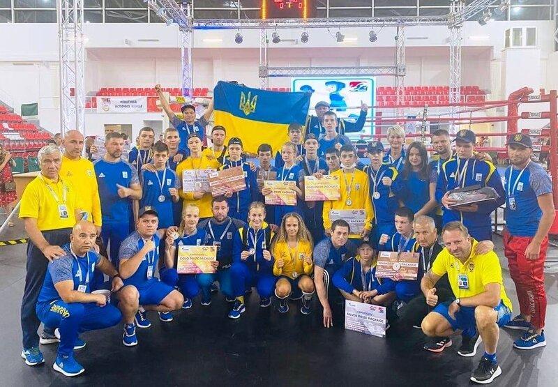 Юниорская сборная Украины по боксу / фото Федерация бокса Украины