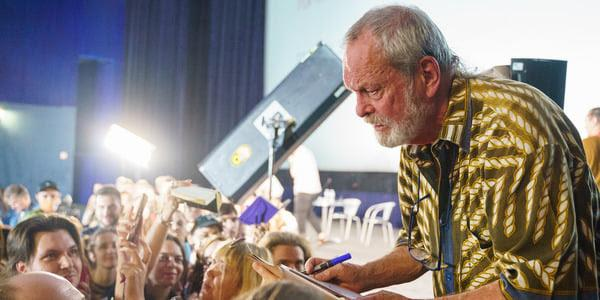 Terry Gilliam visited the 12th Odessa International Festival / photo OIFF press service
