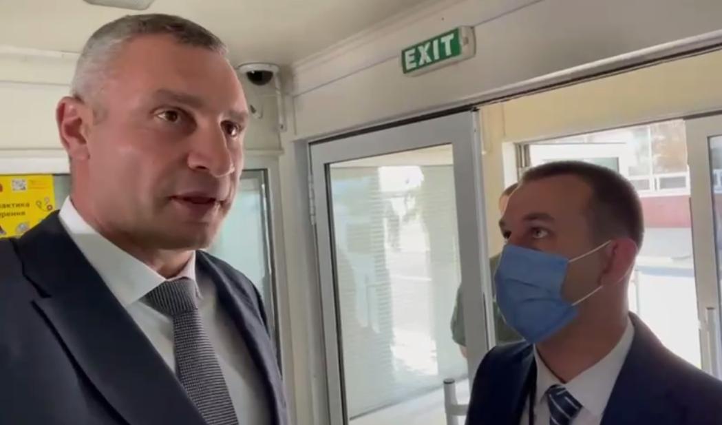 Klitschko was not allowed to meet Merkel / screenshot