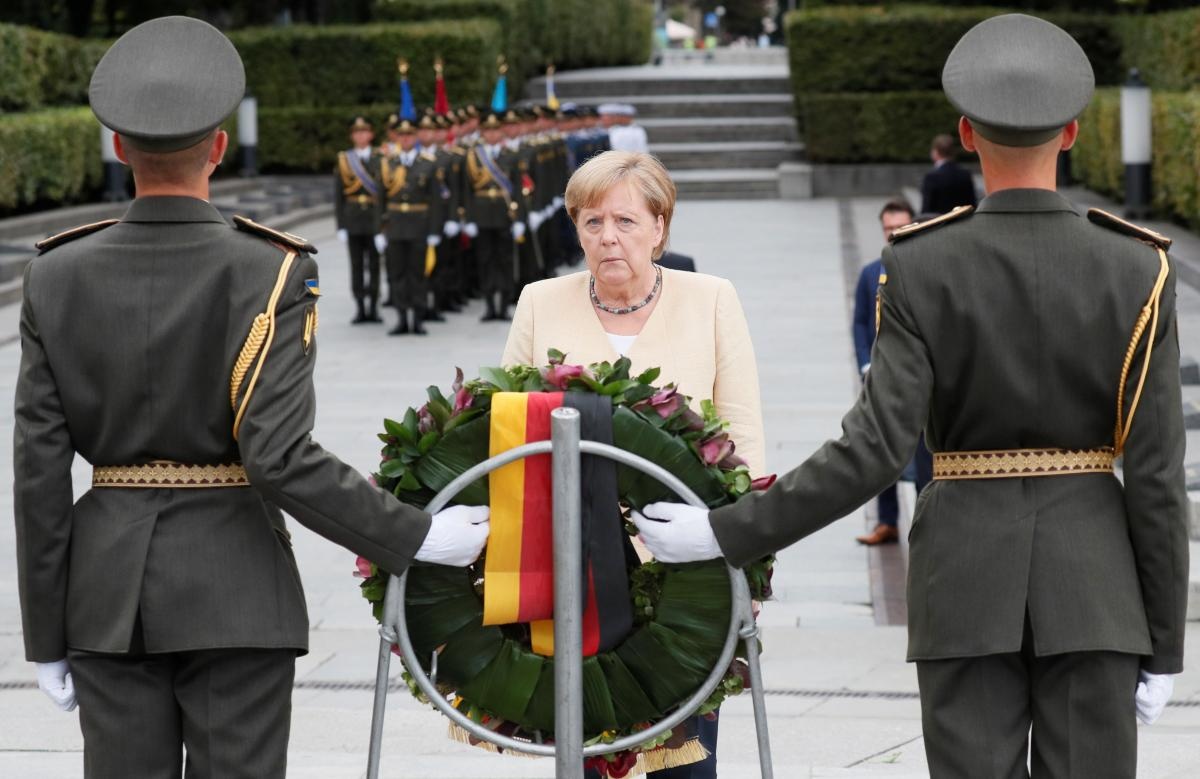 Merkel arrived with a one-day visit / illustration REUTERS