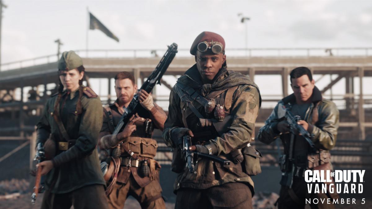 Релиз Call of Duty: Vanguard состоится 5 ноября /фото Activision