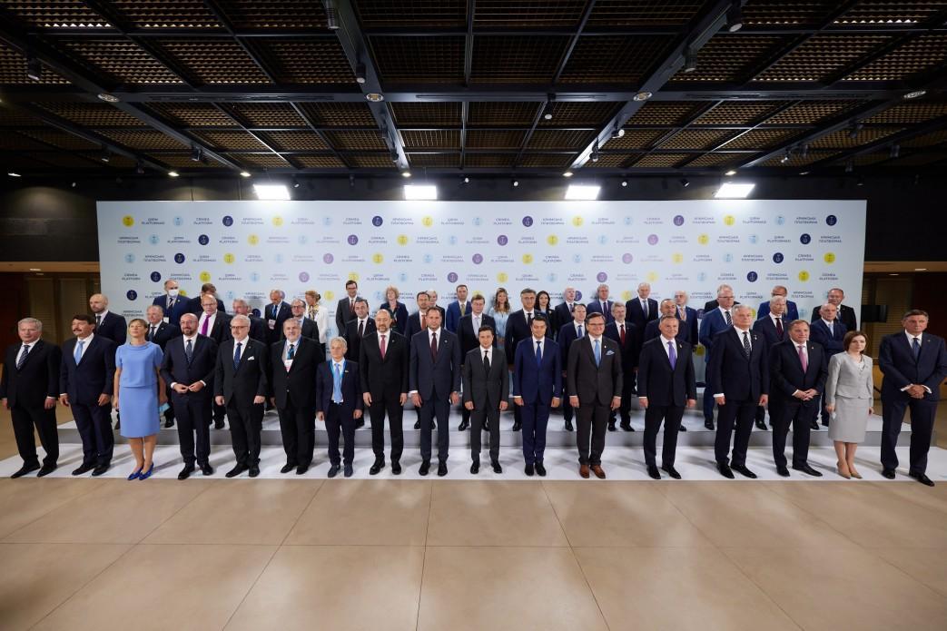 """Учредители """"Крымской платформы"""" настроены поддерживать давление на Россию / фото president.gov.ua"""