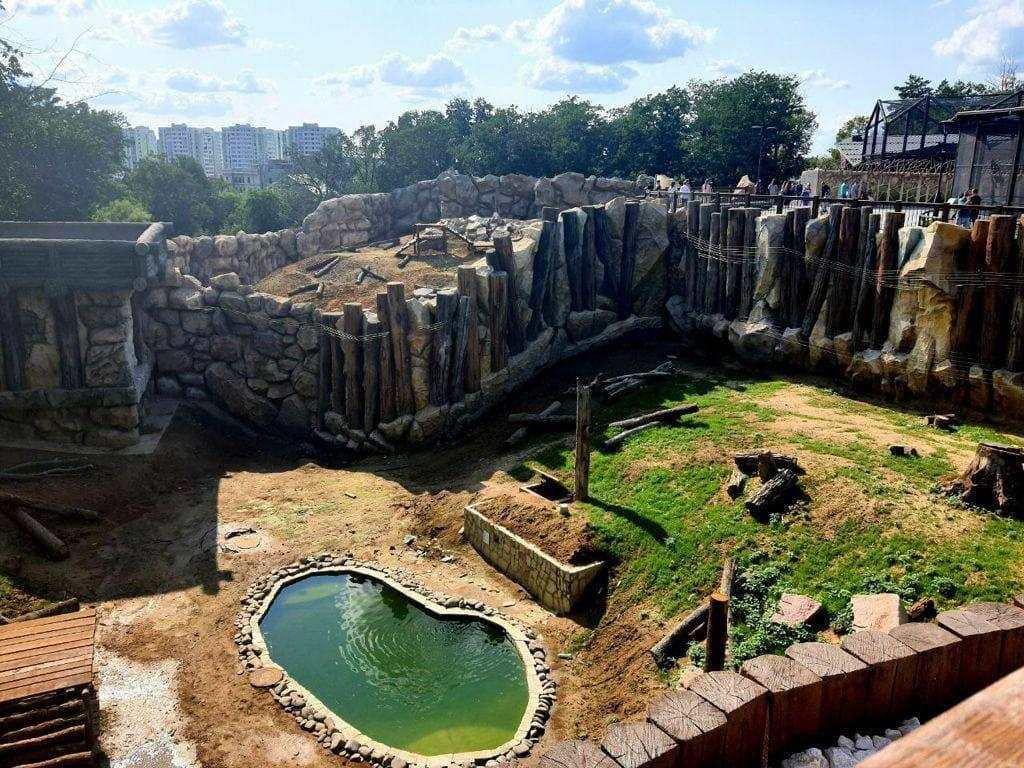 Now the Zoo works in a test mode and accepts privileged categories of Kharkiv residents
