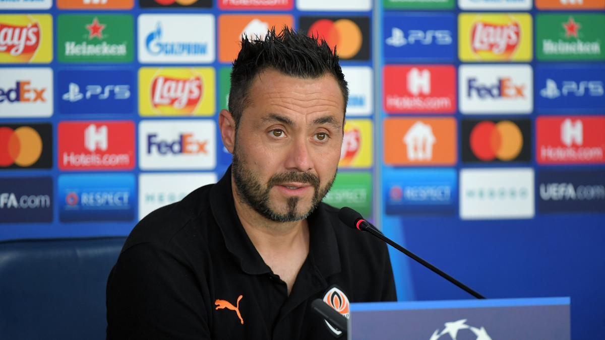 Роберто Де Дзербі вважає, що Шахтар повинен грати сміливо / фото ФК Шахтар