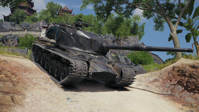 Танк Strv K /фото Wargaming