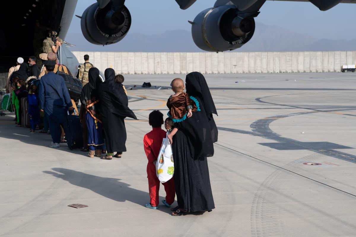 Операція з евакуації з Афганістану - одна з найбільших в історії / фото REUTERS