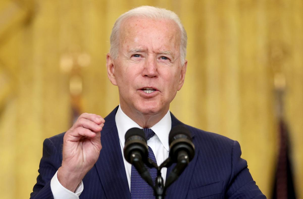 Joseph Biden addressed the nation after the terrorist attacks in Kabul / photo by REUTERS