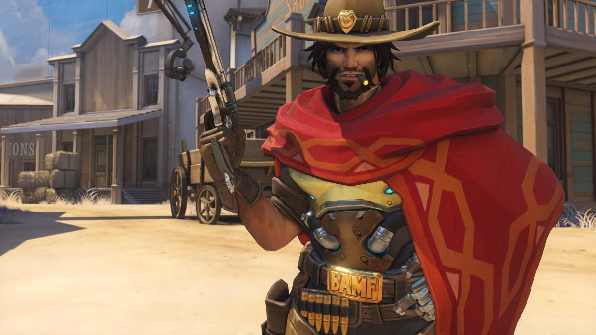 Маккри из Overwatch /фото Blizzard