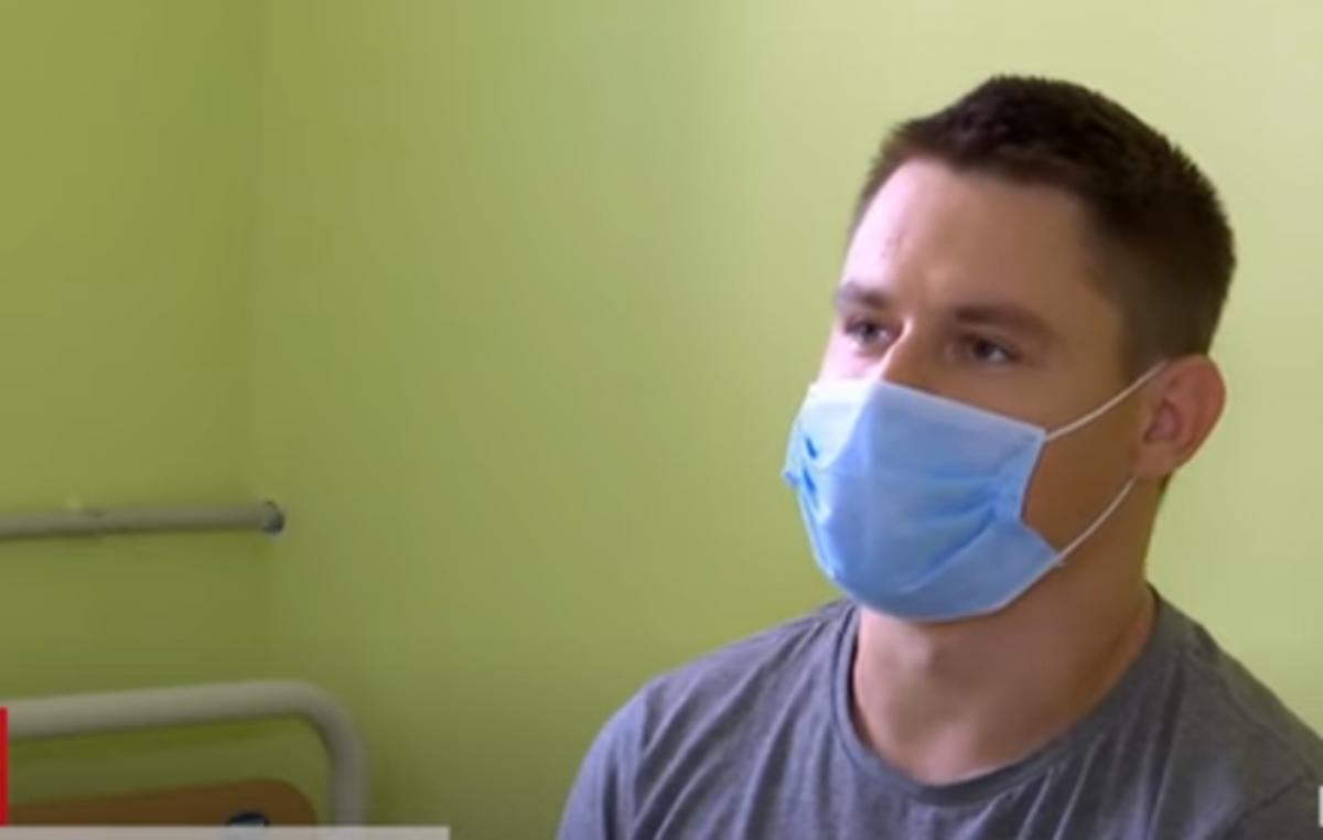 Игорю Леочко пересадили почку отца / скриншот