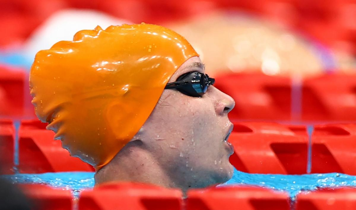 Єлизавета Мерешко - дворазова чемпіонка Паралімпіади в Токіо / фото REUTERS