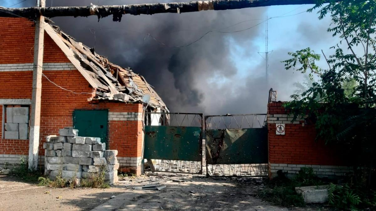 Militants chased Avdiivka / photo press center of the Environmental Protection Agency