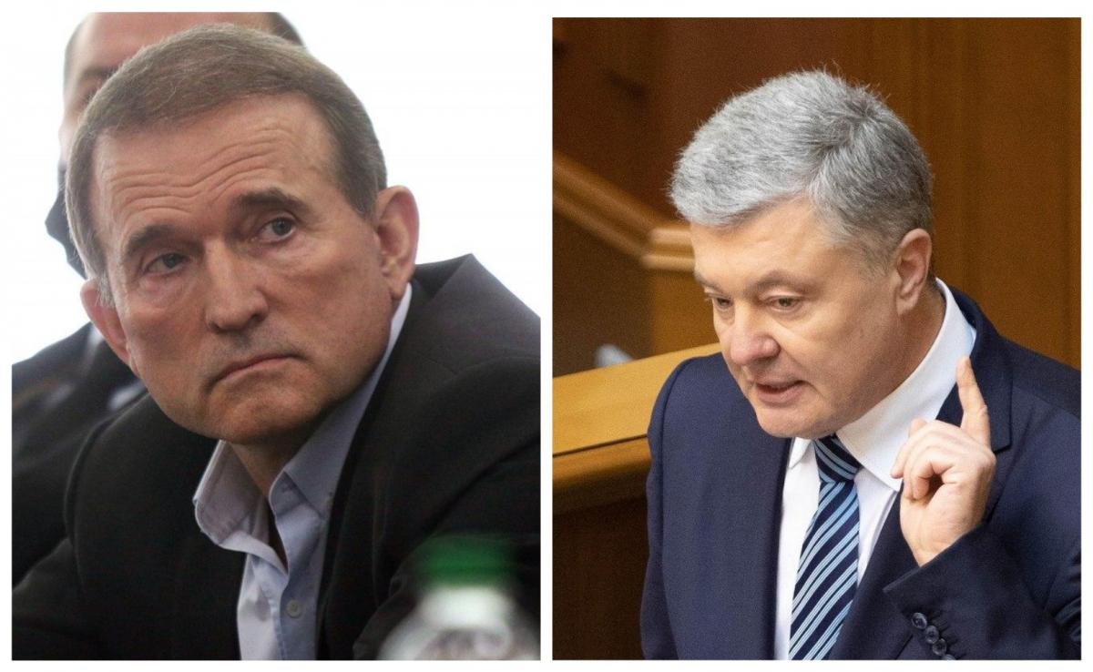При посредничестве Медведчука состоялся сговор россиян с высшими должностными лицами Украины, которые, используя полномочия НБУ и правоохранителей, создали искусственные препятствия для поставки угля из ЮАР / Коллаж УНИАН