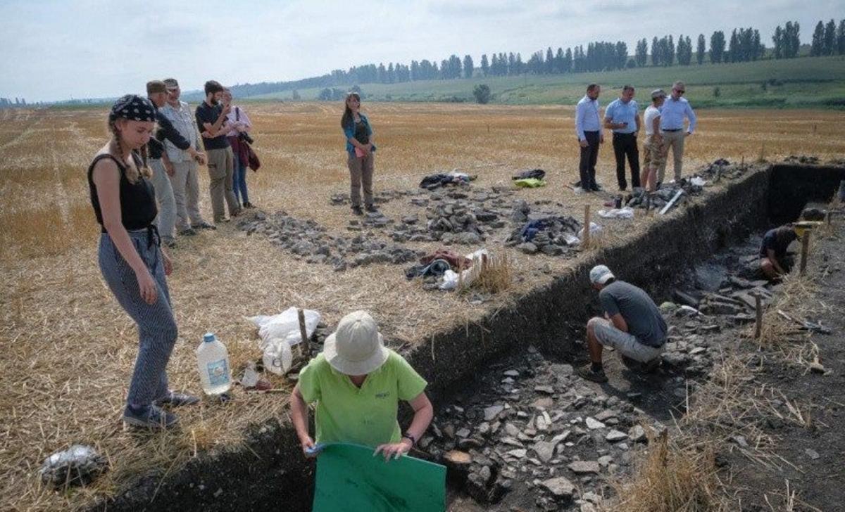 Археологи изучают поселение древних римлян / фото bukoda.gov.ua