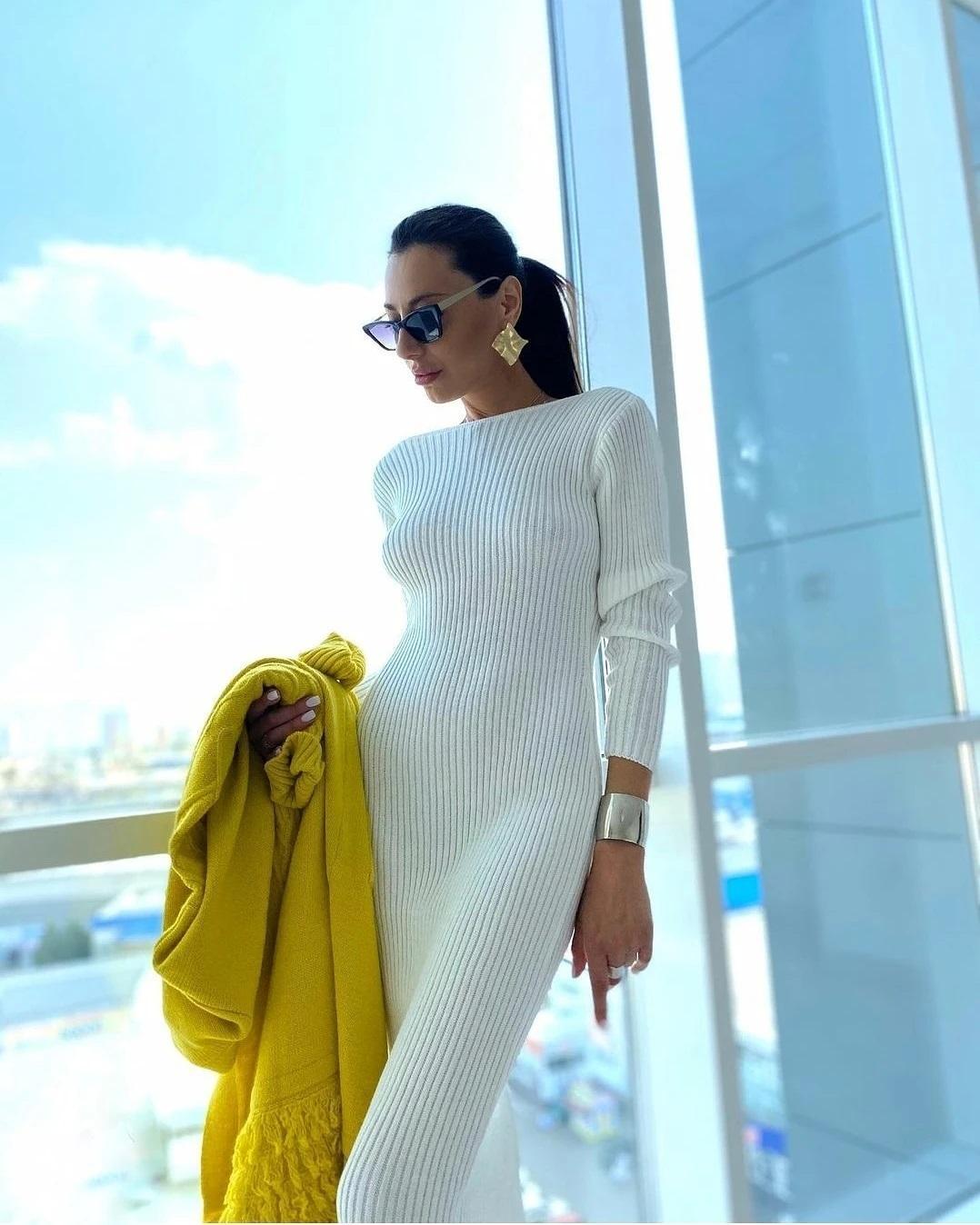 Трикотажна сукня зігріє вас прохолодною осінню / instagram.com/bycoccon.ru
