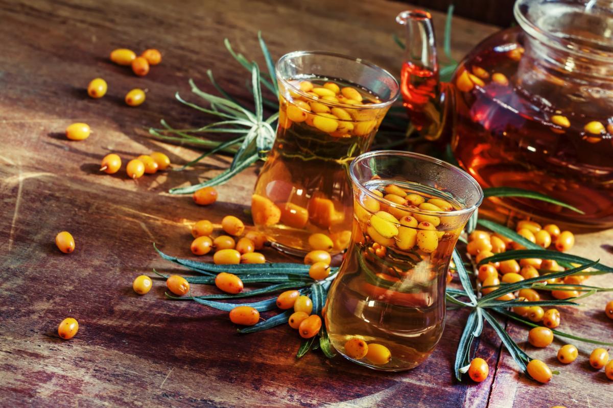 Рецепты вкусных компотов из облепихи/ depositphotos.com