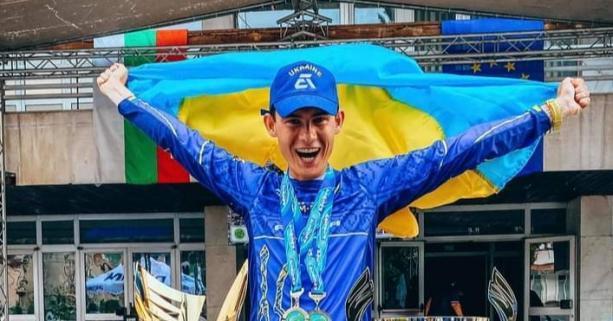 Назар Боженко -мастер по рыболовному спорту международного класса / фото loda.gov.ua