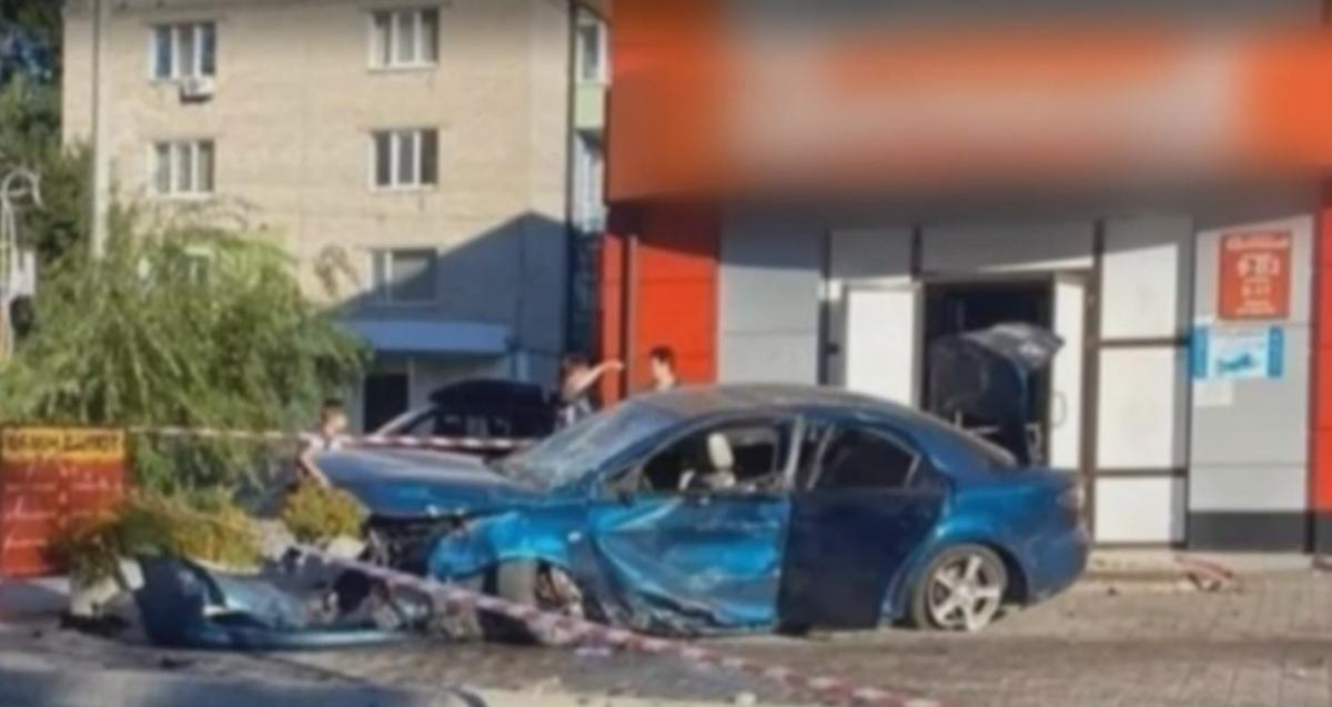 In Svitlovodsk, a mother of three children died under the wheels of a car / screenshot