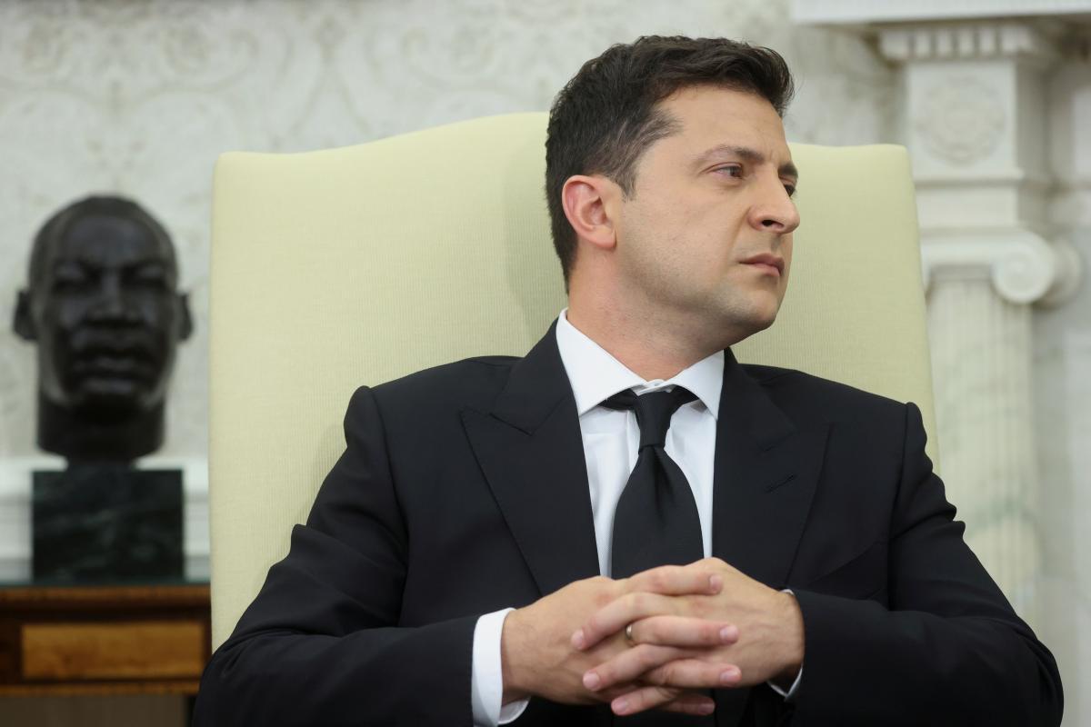 Володимир Зеленський стверджує, що на нього не тиснув Дональд Трамп / фото Reuters