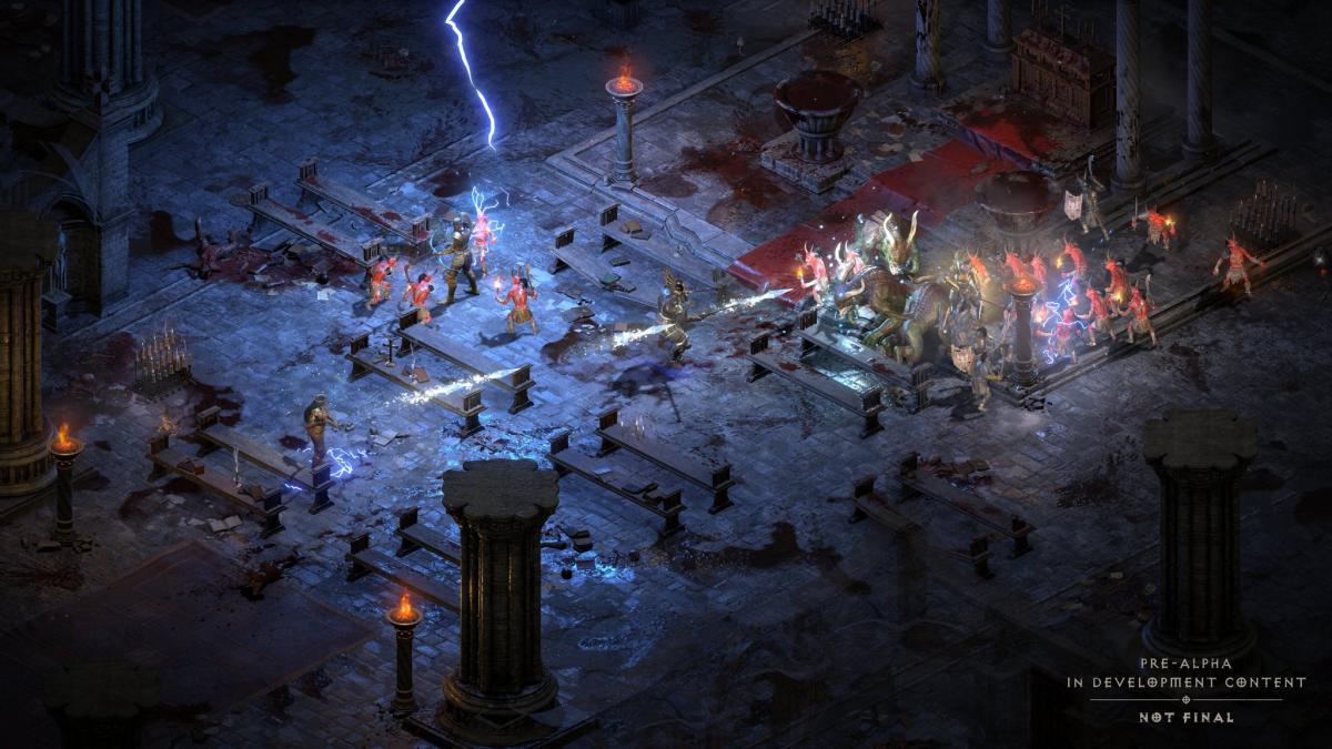 Diablo II: Resurrected /фото Blizzard