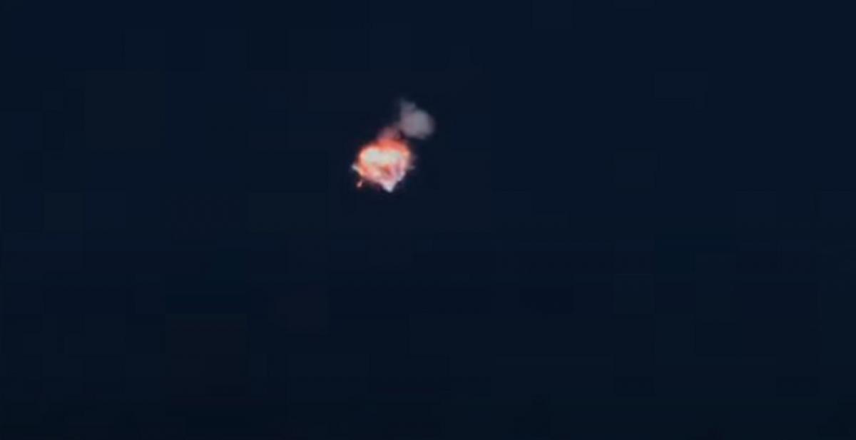Alpha взорвалась после 2-минутного полета / Скриншот