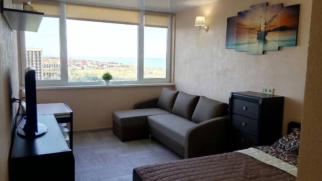 Ось такий чудовий краєвидз вікна на вас чекає / фото zatoka-promenade-apartment