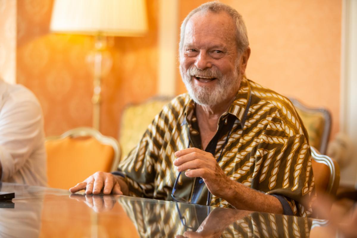 На інтерв'ю Террі Гілліам любить пожартувати / фото oiff.com.ua