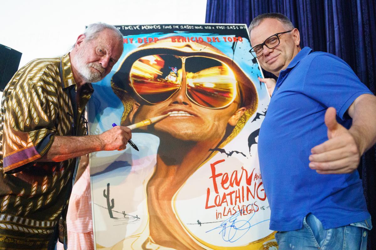 """""""Страх і ненависть в Лас-Вегасі"""" - один з найбільш значущих фільмів Гілліама / фото oiff.com.ua"""