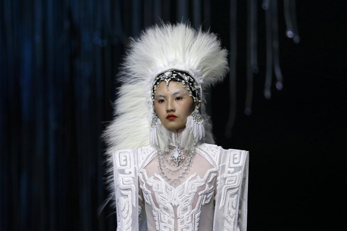 В Китае состоялась неделя моды / фото REUTERS