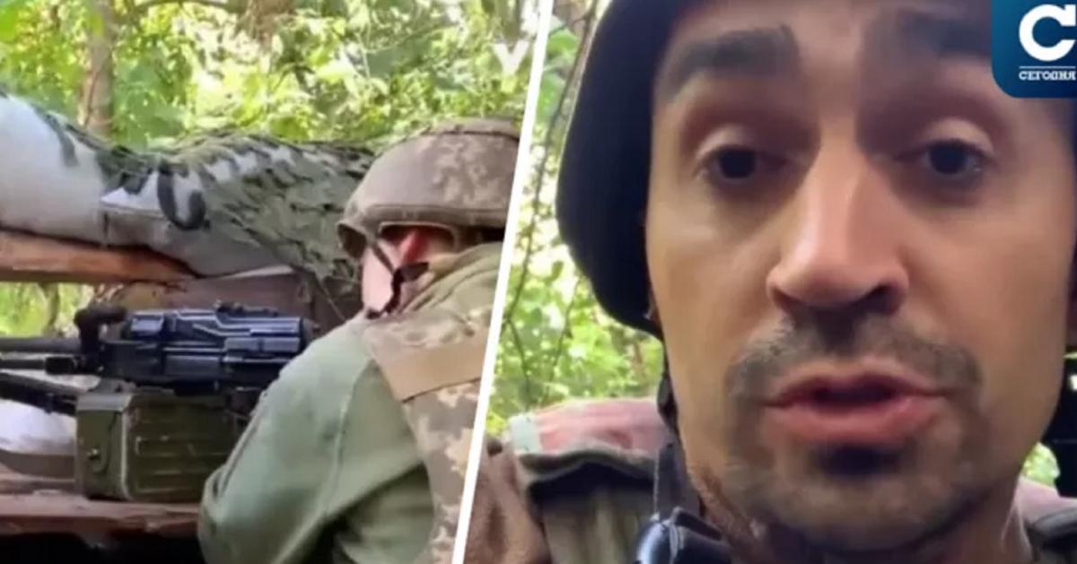 Медийщикам пришлось быстро искать укрытие с включенной камерой / Скриншот