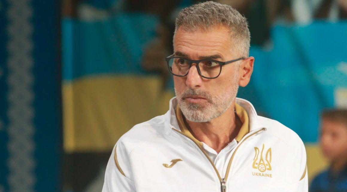 Мауро Тассотти c 2016 года работал в сборной Украины/ фото Footboom.com