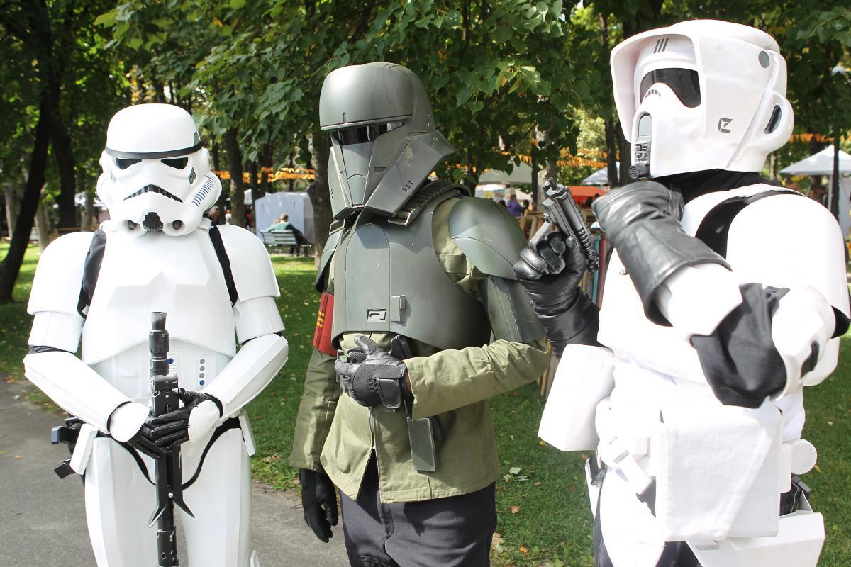 Comic Con Ukraine 2021 прошел 4 и 5 сентября в Киеве /фото УНИАН